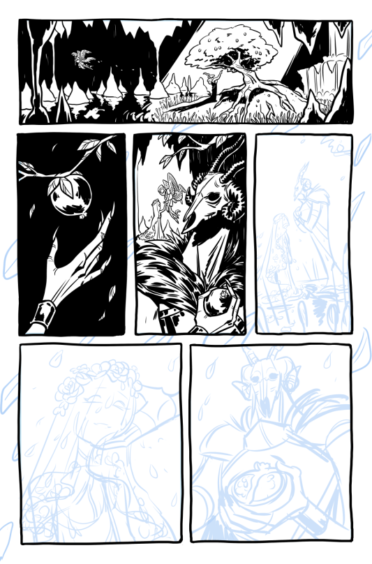 Inks Progress